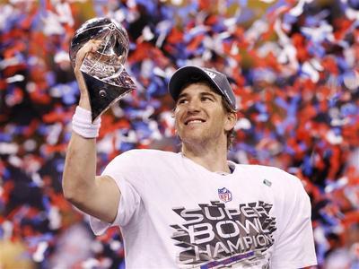 Giants win Super Bowl