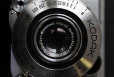 <p>A Kodak Retina camera is seen in a photo store in London January 19, 2012. REUTERS/Stefan Wermuth</p>