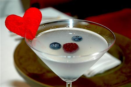 The ''Berry-Politan'' cocktail, created by Las Vegas mixologist Patricia Richards, is shown in this undated photograph. REUTERS/Food Enquirer/Edip Aral/Handout