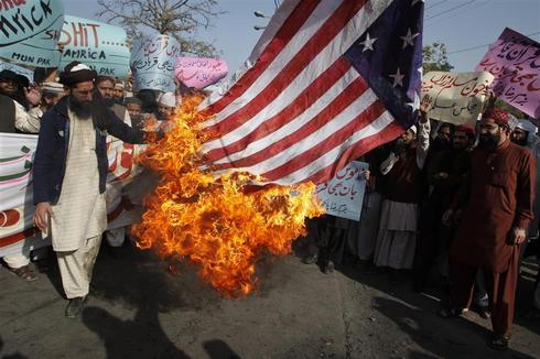 Protests over Koran burning