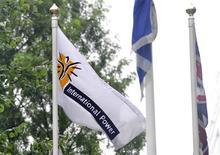 <p>GDF Suez et International Power ont trouvé un accord sur le rachat par le groupe français des 30% qu'il ne détient pas encore dans le producteur britannique d'électricité. L'offre, de 418 pence en numéraire pour chaque action d'International Power, représente une prime de 7% par rapport à la dernière offre déposée par GDF Suez. /Photo d'archives/REUTERS/Toby Melville</p>