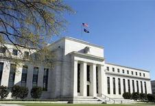 <p>La Réserve fédérale a confirmé mercredi son engagement à observer le statu quo sur les taux jusqu'à la fin 2014 au moins. Elle n'a pas dit grand chose en revanche sur d'éventuelles nouvelles mesures de relance cette année. /Photo d'archives/REUTERS/Joshua Roberts</p>