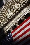 <p>La Bourse de New York a fini en baisse de 0,23%. L'indice Dow Jones des 30 industrielles cédant 29,74 points à 13.008,53 points, la prudence étant restée de mise dans la crainte que les résultats des élections en France, et surtout en Grèce, ne compliquent la sortie de crise en Europe. /Photo d'archives/REUTERS/Brendan McDermid</p>