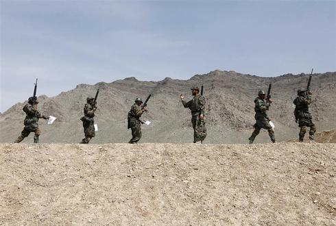 Joining the Afghan army