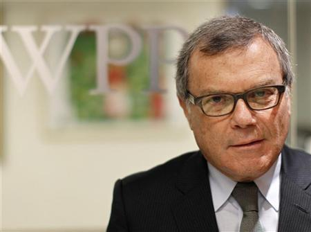 Martin Sorrell, chief executive officer of WPP group, poses outside the company's offices as part of the Reuters Global Media Summit in New York November 28, 2011.