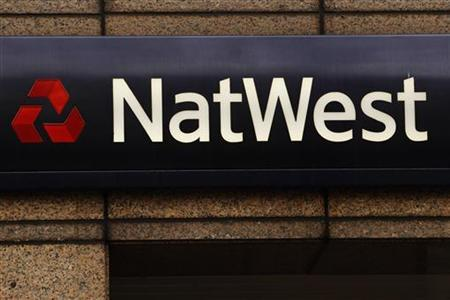 Signage for NatWest bank in London February 14, 2012. REUTERS/Luke MacGregor