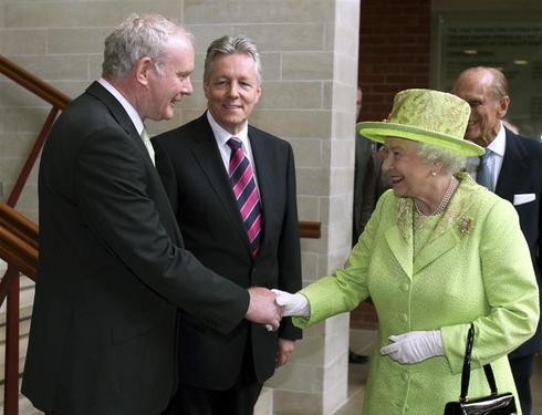 Queen meets ex-IRA chief
