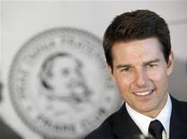 <p>Imagen de archivo del actor Tom Cruise a su llegada a la entrega del premio Icon en Nueva York, jun 12 2012. Tom Cruise encabeza la lista anual de los 100 actores mejor pagados de Forbes divulgada el martes, con ingresos que casi duplican las ganancias de su colega Leonardo DiCaprio, en el segundo puesto. REUTERS/ Andrew Kelly</p>