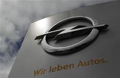 <p>Thomas Sedran, un spécialiste des restructurations, a été désigné mardi pour prendre la présidence du directoire par intérim d'Opel, filiale de General Motors après l'éviction de Karl-Friedrich Stracke. /Photo prise le 17 juillet 2012/REUTERS/Alex Domanski</p>