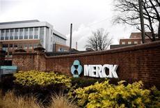 <p>Le deuxième groupe pharmaceutique américain Merck a annoncé des bénéfices trimestriels meilleurs qu'attendu, en dépit de l'impact négatif de la hausse du dollar, à la faveur d'une progression de la croissance de ses ventes de traitements contre le diabète et le VIH. /Photo d'archives/REUTERS/Jeff Zelevansky</p>