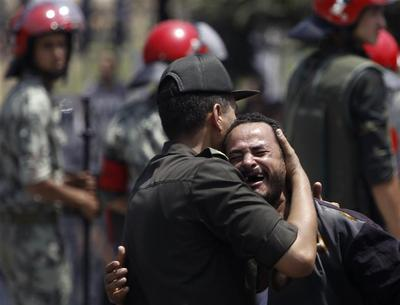 Funeral for slain Egyptian guards
