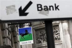<p>Lloyds Banking Group va céder un portefeuille de capital-investissement de 1,05 milliard de livres (1,34 milliard d'euros) dans le cadre de la restructuration de ses activités. Ce portefeuille sera racheté par Coller International Partners. /Photo d'archives/REUTERS/Stefan Wermuth</p>