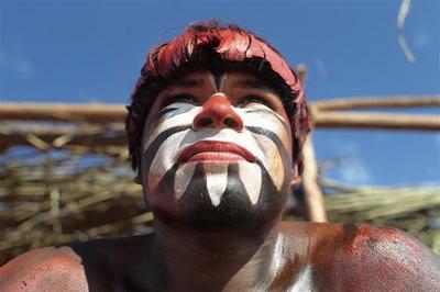 Yawalapiti tribe's ritual