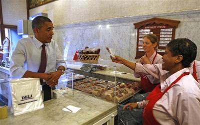 The Presidential diet