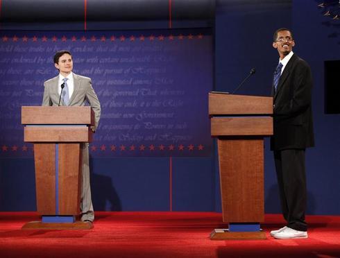 Debate stand-ins