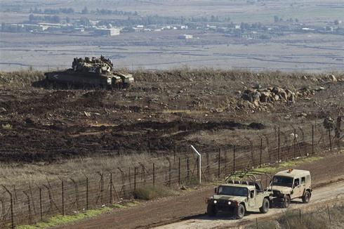 Tense watch over Golan Heights