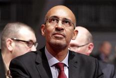 """<p>Harlem Désir, nouveau """"patron"""" du PS a exclu l'aile gauche du parti de la nouvelle équipe dirigeante. /Photo prise le 26 octobre 2012/REUTERS/Jean-Philippe Arles</p>"""