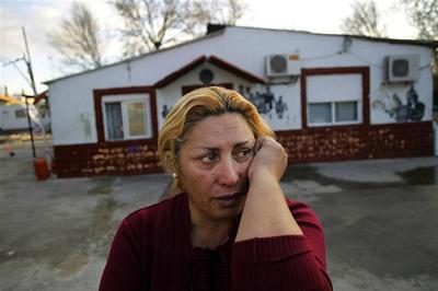 Gypsy community demolished