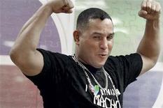 """<p>Foto de archivo del ex campeón del mundo de boxeo Hector """"Macho"""" Camacho. Oct 14, 2010. REUTERS/Alvin Baez</p>"""