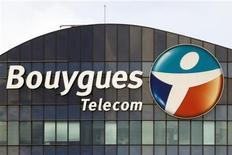 <p>Bouygues Telecom a finalisé la cession pour 205 millions d'euros de 2.166 pylônes à Antin Infrastructure Partners. /Photo prise le 29 août 2012/REUTERS/Charles Platiau</p>