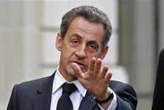 <p>Selon son entourage, Nicolas Sarkozy a demandé à Jean-François Copé et François Fillon, qui se disputent la présidence de l'UMP, de se rencontrer afin de rétablir un dialogue à même de préserver l'unité du parti. /Photo prise le 26 novembre 2012/REUTERS/Benoît Tessier</p>