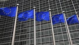 <p>Les pays et le Parlement de l'Union européenne (UE) ont convenu mardi d'instaurer un contrôle limité des agences de notation. /Photo prise le 12 octobre 2012/REUTERS/Yves Herman</p>