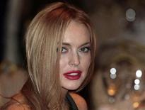 <p>Foto de archivo de la actriz Lindsay Lohan en Washington. Abr 28, 2012. REUTERS/Larry Downing</p>