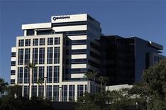 <p>Imagen de archivo de uno de los edificios de Qualcomm en San Diego, EEUU, feb 7 2011. Qualcomm invertirá hasta 120 millones de dólares en Sharp Corp, una inyección de efectivo que probablemente impulsará los esfuerzos del deficitario fabricante japonés de televisores para mantenerse en pie. REUTERS/Mike Blake</p>