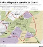 <p>LA BATAILLE POUR LE CONTRÔLE DE DAMAS</p>