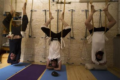 Ultra-Orthodox yoga