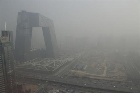 Smog over Beijing
