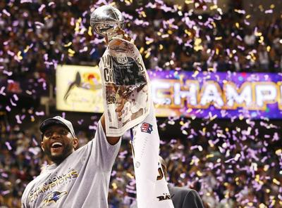 Ravens win Super Bowl