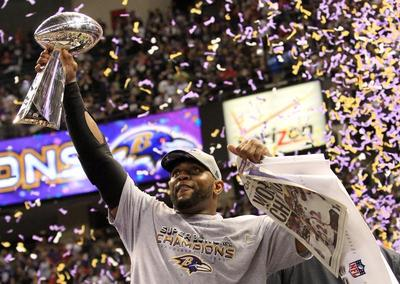 Ravens the champs evermore