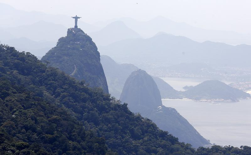 Rio from above