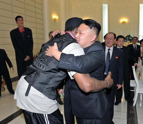 Dennis Rodman befriends Kim Jong-un