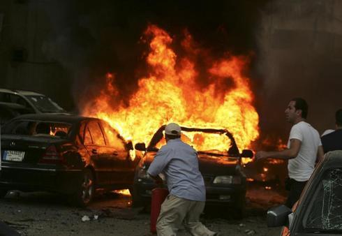 Car bomb rips through Beirut