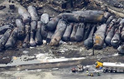 Quebec train explosion