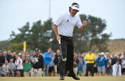 Mickelson wins British Open