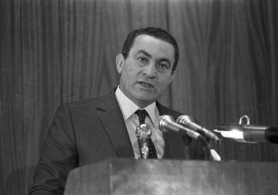 Rise and fall of Mubarak