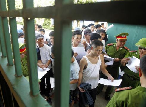 Vietnam frees 15,446 prisoners