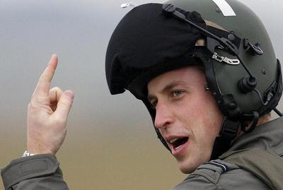 Prince William leaves military