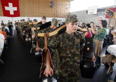Inside the Swiss military