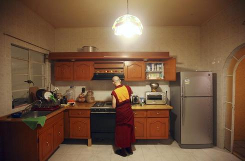 Tibetan (Mexican) Buddhist Monk