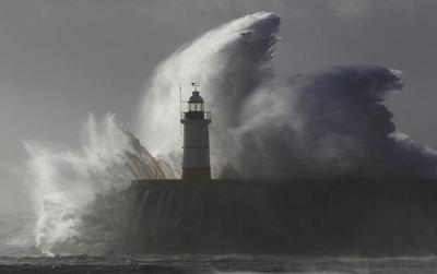 Storm batters Europe