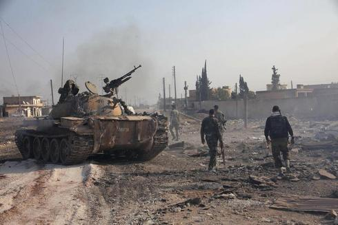 Fighting in Aleppo