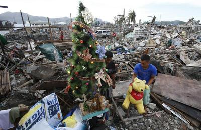 Christmas after a typhoon