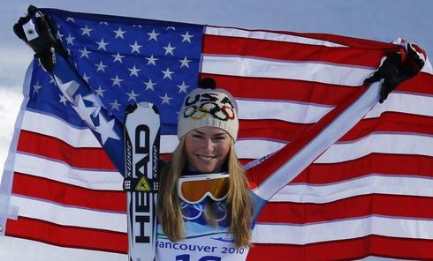 Spotlight on Lindsey Vonn