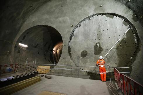 Tunneling under London