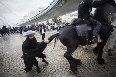 Protests in Jerusalem