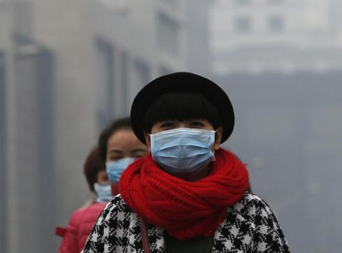Living with the smog in China